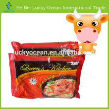 75g beef flavor in bag instant noodles
