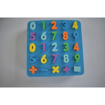 Kids learning educational Eva foam puzzle