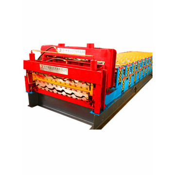 glazed Double layer cold Roof Roll Forming Machine