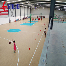 Indoor Sports Flooring / Basketball court CBA sponsor