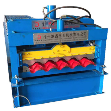 Glazed tile Africa popular type forming machine