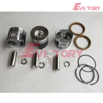YANMAR engine piston 3T82 piston ring