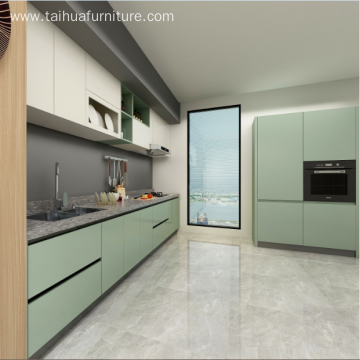Modern Wooden Kitchen Cabinets Design