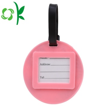 Silicone 3D Logo Travel Need Luggage Tag Wholesale