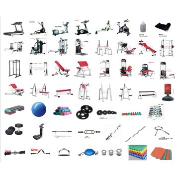 400㎡ Commercial Gym Equipment Package