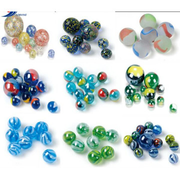 China Gold Supplier for for Toy Glass Marbles Colorful beauty glass marble for vase export to Cambodia Importers