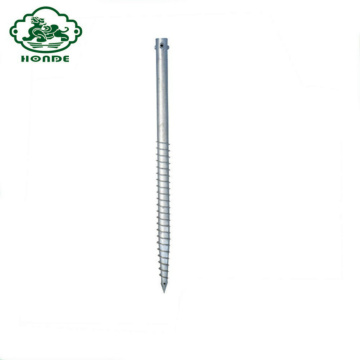 New Product No Dig Ground Screw Pole Anchor