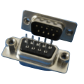 D-SUB PCB Female Dual Row Straddle Type(stamped Pin)