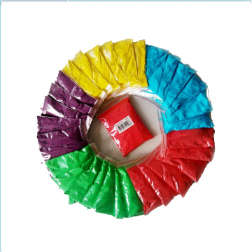 Biodegradable vibrant color Holi Gulal powder
