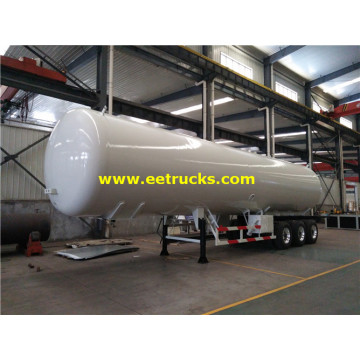 56cbm LPG Delivery Trailer Tankers