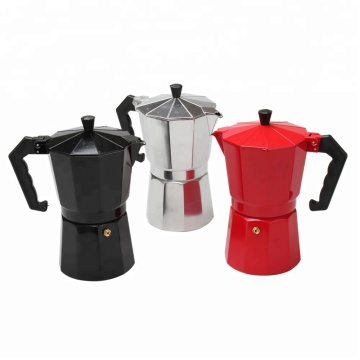 Stovetop Coffee Maker Aluminum Italian Moka Pot