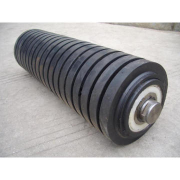 Best Quality for Impact Rollers Impact Rubber Conveyor Roller supply to Micronesia Supplier