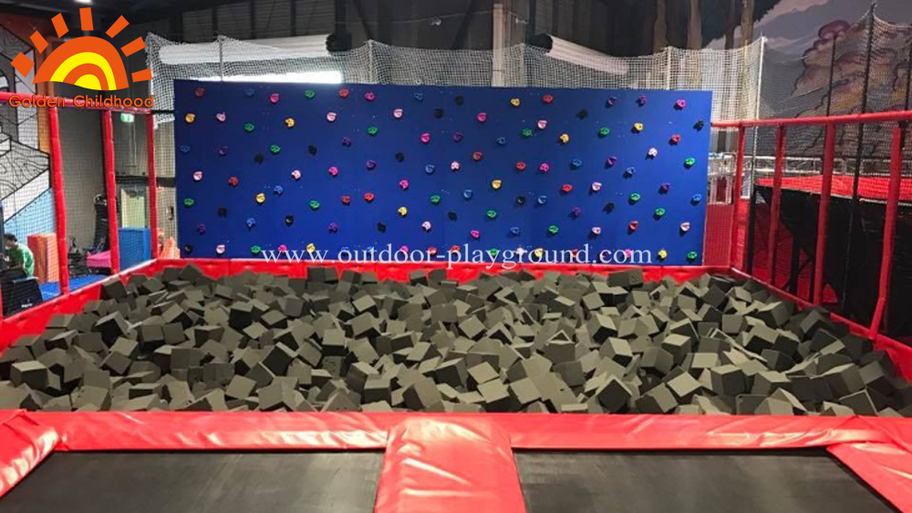 Ninja Warrior Gym foam