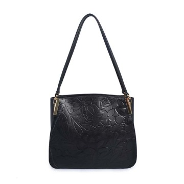 Large Capacity Leather Handbag Shoulder Bag For Woman
