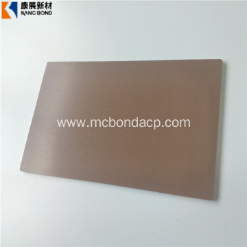 Decorative ACP Sandwich Panel Building Material