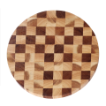 Round end grain cutting board designs