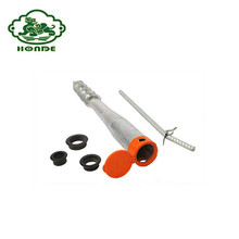 Galvanized No Dig Helical Ground Screw Pole Anchor