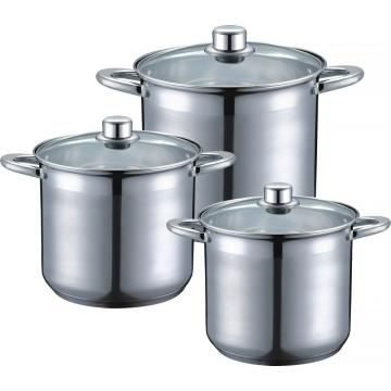 6pcs classic Stock pot