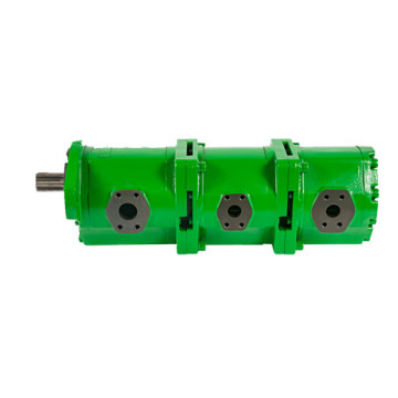 pompe hydraulique triple