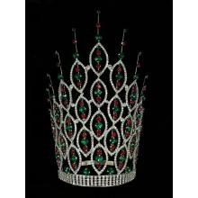 China for Large Colored Rhinestone Full Round Pageant Crown - China Supplier, Exporter. 12 Inch Rhinestone Pageant Miss World Crown supply to China Factory