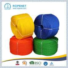 Special for PE Monofilament 3 Strands Twist Rope High Stregth Yellow Polyproplene Rope for sale export to Malta Wholesale