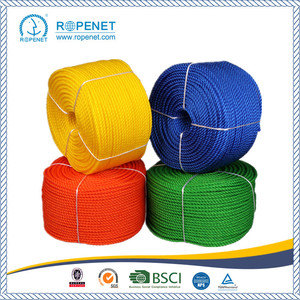 Good Quality for PE Monofilament 3 Strands Twist Rope High Strength 3 Strands PP Twisted Rope for Agriculture export to El Salvador Factory