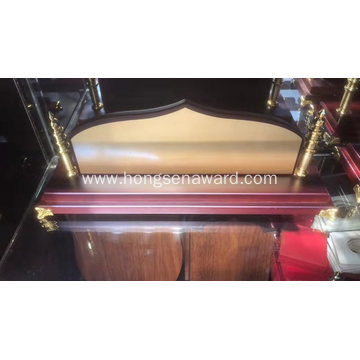 Wood Desk Name DN-4
