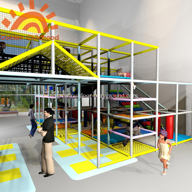 large children play structure indoor playground