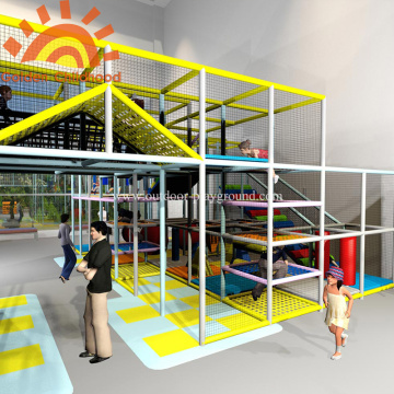 Large Indoor Playground Equipment Structures For Children