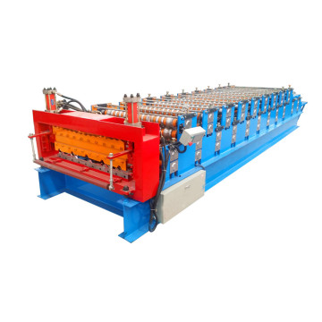 Dx Double plate colored steel roll forming machine