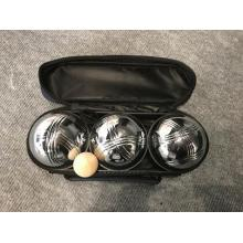 Three Balls Bocce Petanque In Nylon Bag