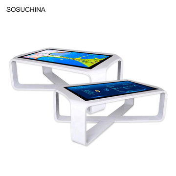 custom touch lcd screen glass interactive coffee table