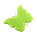 Butterfly type silicone brush