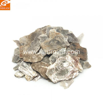 Natural white mica scrap Grade C