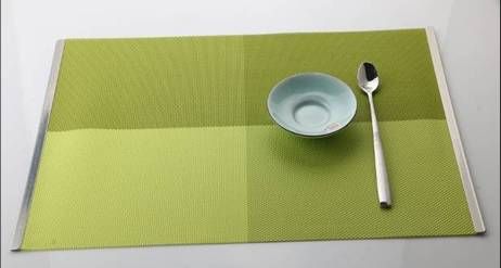 The hotel coffee shop home plus metal frame eat mat