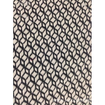 cotton  22% polyester T/C jacquard knit fabric