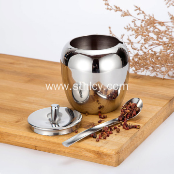 SUS304 Stainless Steel Condiment Containers Set