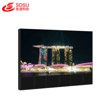 40 inch splice LCD wall narrow bezel