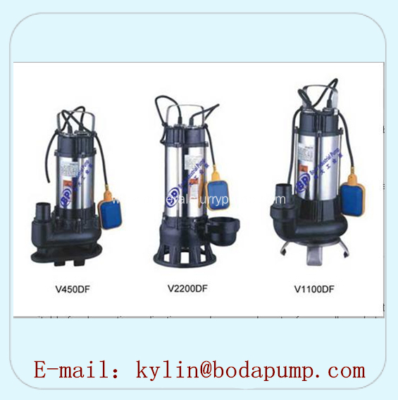 V Series Stainless Steel Submersible Sewage Pump