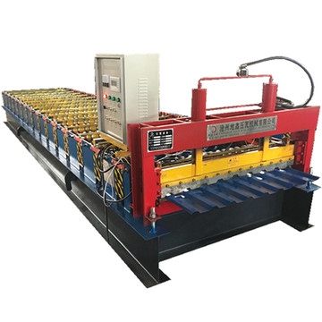 Single layer trapezoidal automatic forming machine
