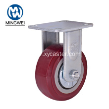 PVC 5 Inch Fixed Heavy Duty Caster