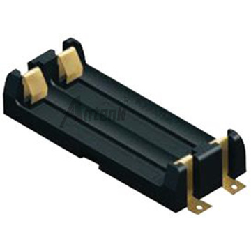 2*AAA Battery Holder SMD Surface Mount