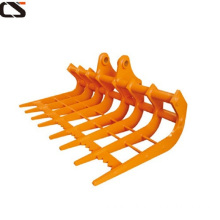Mini excavator rake attachment for 1.5-4 tons excavator
