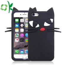 Cute Cartoon Cat Soft Silicone Mobile Phone Case
