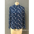 women`s  navy pint shirt