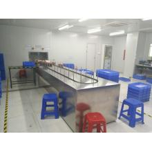 Plastic Conveyorised UV Varnish Spray Painting Line