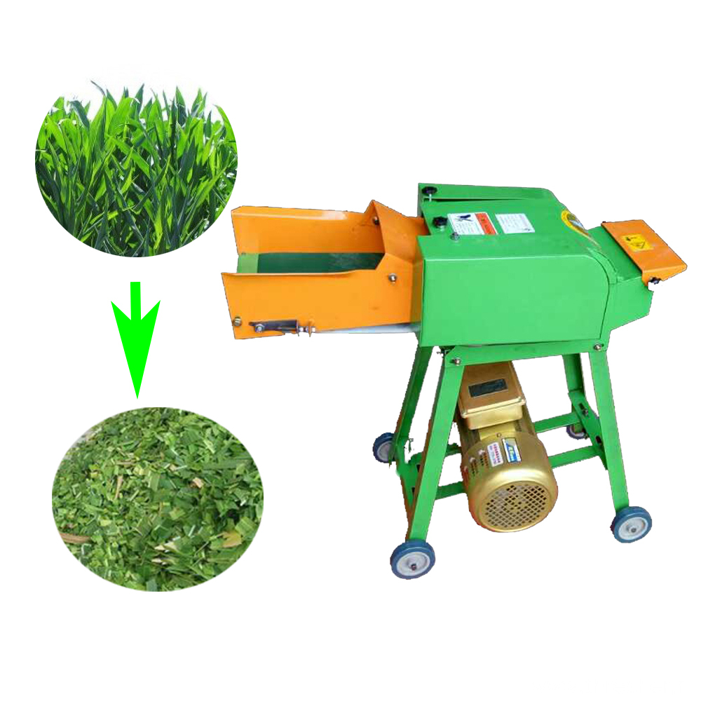 Farm Use Belt Mini Electronic Chaff Cutter Feed
