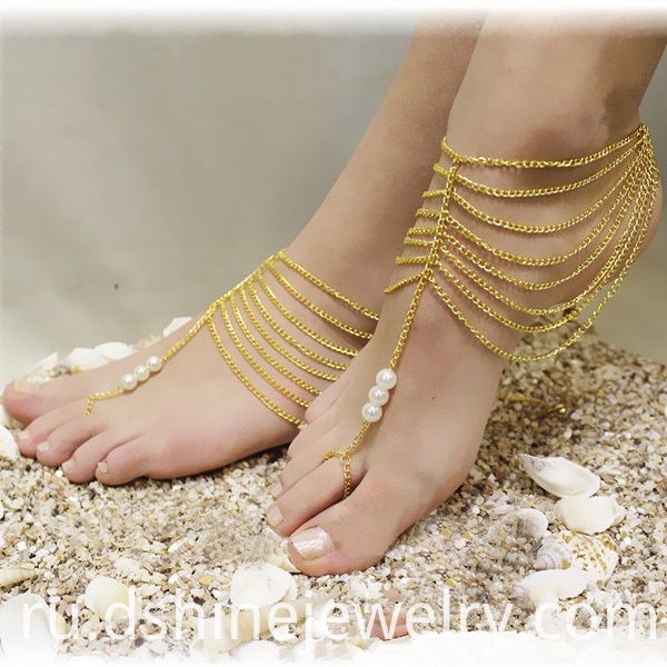 Toe Chain Anklets For Women