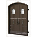 Iron Castle Door Filled with Steel Plate