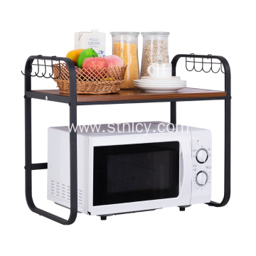 Hot Selling 2 Layer Metal Microwave Oven Rack